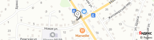 Магазин бытовой химии и косметики на карте Прокопьевска