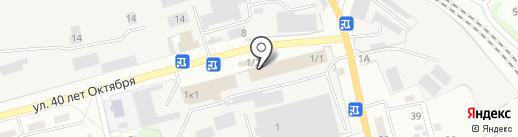 Qiwi на карте Прокопьевска