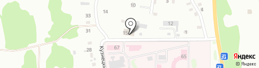 Базальт на карте Прокопьевска