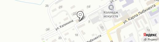 Центр социального обслуживания населения на карте Прокопьевска