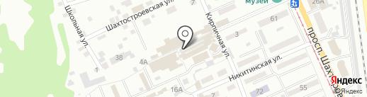Каспий на карте Прокопьевска