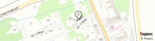 ААБР-Пультовая и Физическая Охрана на карте Прокопьевска