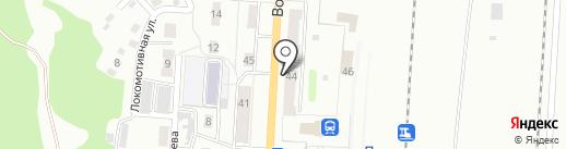 Эдельвейс на карте Прокопьевска