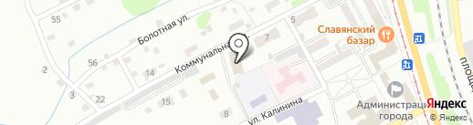 Прокопьевское шахтопроходческое управление на карте Прокопьевска