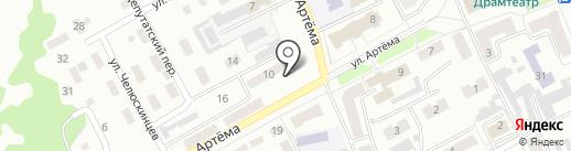 Отдел по работе с инвалидами и ветеранами Администрации г. Прокопьевска на карте Прокопьевска