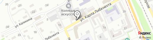 Россельхозбанк на карте Прокопьевска