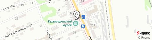 Прокопьевский городской краеведческий музей на карте Прокопьевска