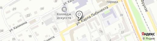Гарант-сервис на карте Прокопьевска