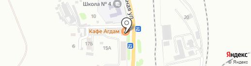 Банкомат, Сбербанк, ПАО на карте Прокопьевска