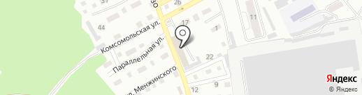 СТО на Комсомольской на карте Прокопьевска