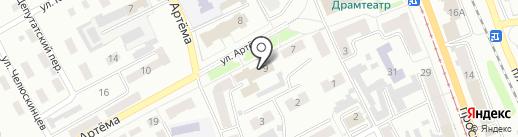 Отдел охраны прав детства управления образования Администрации г. Прокопьевска на карте Прокопьевска