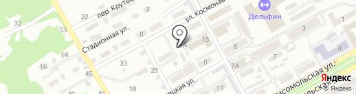 Магазин подшипников и запчастей на карте Прокопьевска