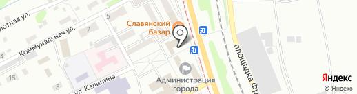 Защита+ на карте Прокопьевска