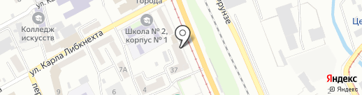 ТТК-Западная Сибирь на карте Прокопьевска