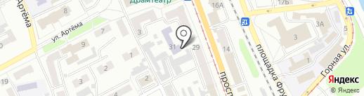 Управление образования Администрации г. Прокопьевска на карте Прокопьевска