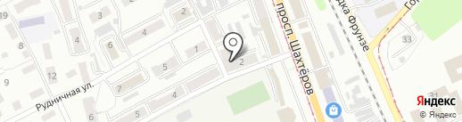 Сбербанк России на карте Прокопьевска