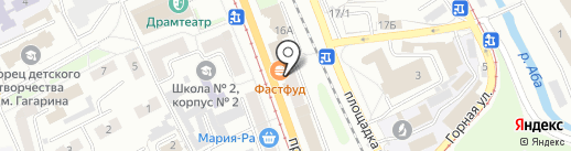 Азалия на карте Прокопьевска