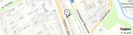 BeerЛога на карте Прокопьевска