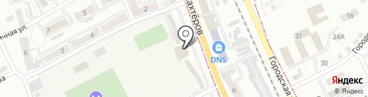 Алёнка на карте Прокопьевска