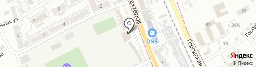 Муниров А.Р. на карте Прокопьевска