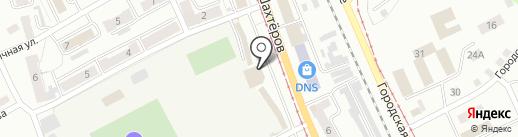 Магазин табачных изделий на карте Прокопьевска