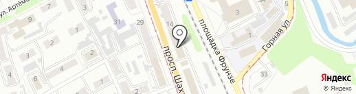 Нотариус Кнурева В.А. на карте Прокопьевска