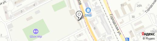 Универсальный магазин на карте Прокопьевска