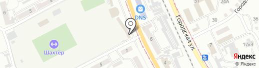 Центрофинанс Групп на карте Прокопьевска