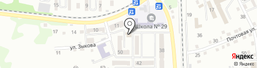 Омский бекон на карте Прокопьевска