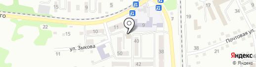 Магазин товаров для праздника на карте Прокопьевска