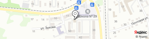 Светлана на карте Прокопьевска