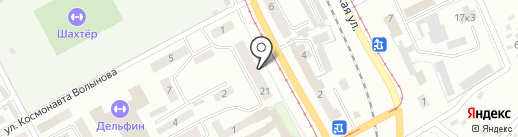 Прокопьевский таможенный пост Кемеровской таможни на карте Прокопьевска