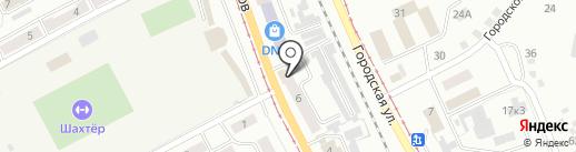 Paradise на карте Прокопьевска