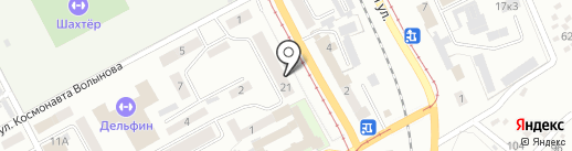 Нить Ариадны на карте Прокопьевска