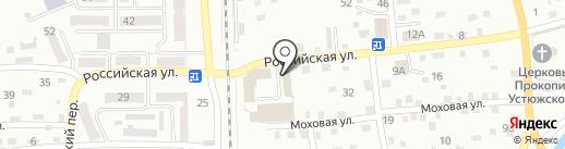 Вианор на карте Прокопьевска