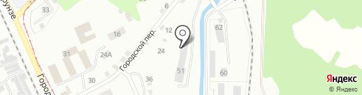 Кружева из металла на карте Прокопьевска