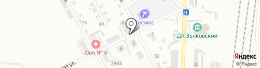 Почтовое отделение №17 на карте Прокопьевска
