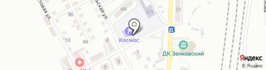 Основная общеобразовательная школа №44 на карте Прокопьевска