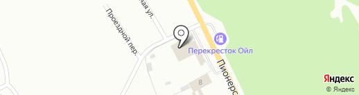 Автоцентр на карте Прокопьевска