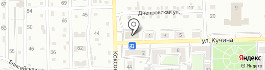 Иголочка на карте Прокопьевска