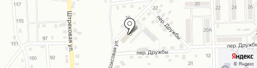 Петруша на карте Прокопьевска