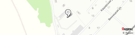 Транспортно-экспедиционное предприятие на карте Прокопьевска