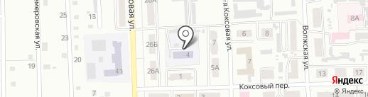 Дом детского творчества на карте Прокопьевска