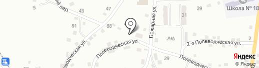Почтовое отделение №54 на карте Прокопьевска