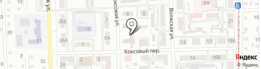 Авторитет на карте Прокопьевска