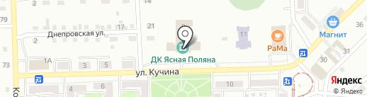 Централизованная библиотечная система, МБУК на карте Прокопьевска
