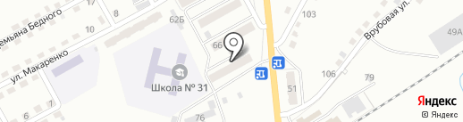 Мария-Ра на карте Прокопьевска