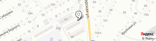 Хмель на карте Прокопьевска