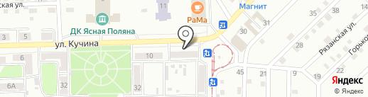 Хозяюшка на карте Прокопьевска
