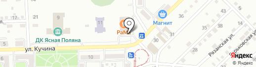 Лекс на карте Прокопьевска